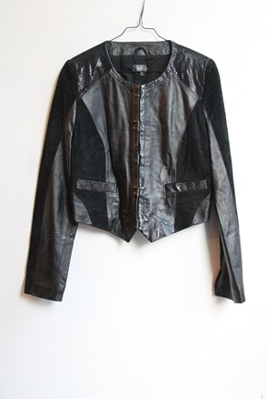 Kate Moss For Topshop Leather Jacket reslu-475