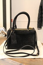 Marni Black Suede Cross Body Bag reslu-509