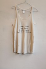 Om and AH Vest Tank Travel Light Cream orig015