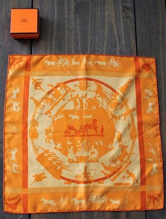 Hermes Pocket Handkerchief herm_w21