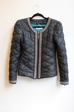 Paris Hilton Quilted Athleisure Jacket reslu-538