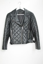 Yas Quilted Leather Jacket Women orig023