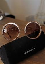 Dolce Gabanna Rose Gold Sunglasses relu-282