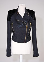 Prey Of London Velvet and Damask jacket reslu-549